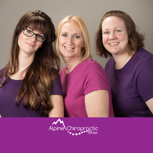 The massage team at Alpine Chiropractic Center in Wasilla Alaska